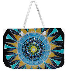 The Soul Mandala Weekender Tote Bag