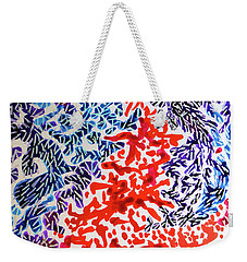 The Sound Of Fireworks Weekender Tote Bag