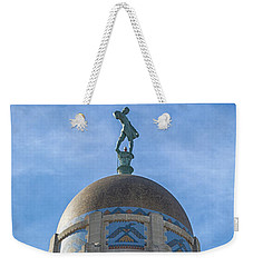 Weekender Tote Bag featuring the photograph The Sower by Susan Rissi Tregoning