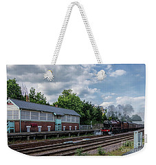 The Spa Express Departing Scarborough Weekender Tote Bag
