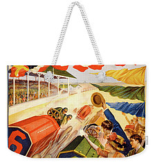 The Speedway Weekender Tote Bag by Gary Grayson