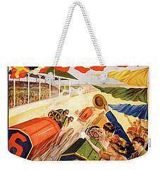 The Speedway Weekender Tote Bag