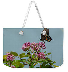 The Spicebush Swallowtail Of Prettyboy Reservoir Weekender Tote Bag by Donald C Morgan
