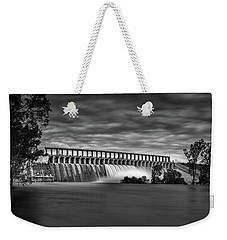 The Spill Weekender Tote Bag by Mark Lucey