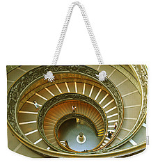 The Spiral Staircase Weekender Tote Bag