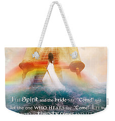 The Spirit And The Bride Weekender Tote Bag