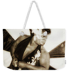 Weekender Tote Bag featuring the photograph The Spirit Club. Another Tenderloin by Mr Photojimsf