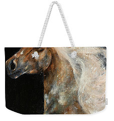 Weekender Tote Bag featuring the painting The Spirit Of Freedom by Barbie Batson