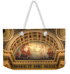 Weekender Tote Bag featuring the photograph The Spirit Of Religious Liberty by Shelley Neff