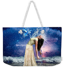 Weekender Tote Bag featuring the digital art The Spirit Of Truth by Dolores Develde