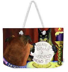The Spirits Never Lie Weekender Tote Bag