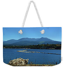 Weekender Tote Bag featuring the photograph The Spit by Tikvah's Hope