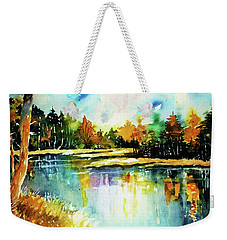 The Splendor And  Color Of Autumn Weekender Tote Bag