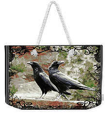 The Spooky Ravens Weekender Tote Bag