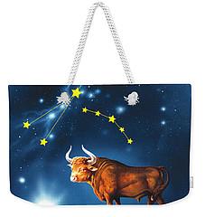 The Star Taurus Weekender Tote Bag