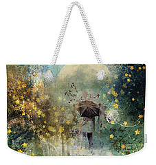 The Stars Fall Down Weekender Tote Bag