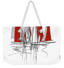The Start Weekender Tote Bag