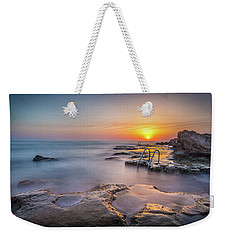 The Steps At Sunrise. Weekender Tote Bag