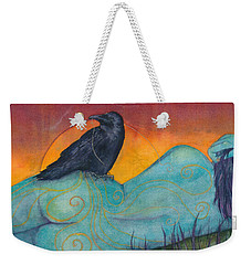 The Still Life With Crow Weekender Tote Bag