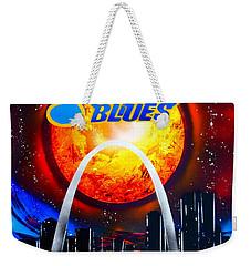 The Stl Blues Weekender Tote Bag