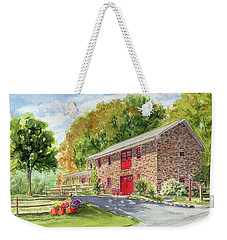 The Stone House Weekender Tote Bag