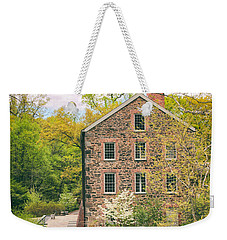 The Stone Mill In Spring Weekender Tote Bag by Jessica Jenney