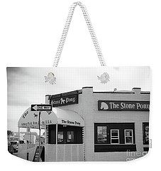Weekender Tote Bag featuring the photograph The Stone Pony - One Way by Colleen Kammerer