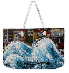 The Storm- Large Work Weekender Tote Bag