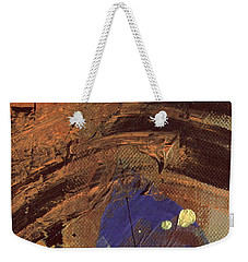 The Storm Is Passing Over Weekender Tote Bag by Angela L Walker
