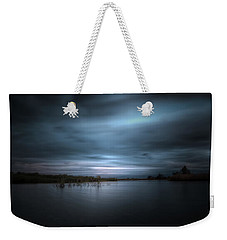 Weekender Tote Bag featuring the photograph The Storm by Mark Andrew Thomas