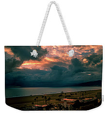 The Storm Moves On Weekender Tote Bag
