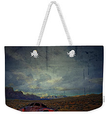 Weekender Tote Bag featuring the photograph The Story Goes On  by Mark Ross