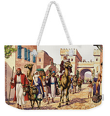 The Story Of Isaac  Weekender Tote Bag by Pat Nicolle