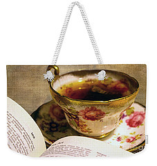 The Story Of Tea Weekender Tote Bag by Nina Silver