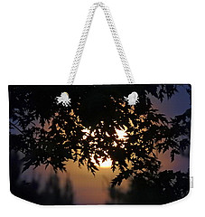 The Strawberry Moon Weekender Tote Bag