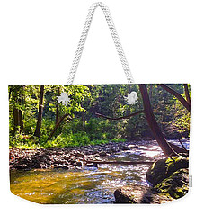The Stream Weekender Tote Bag by Shawn Dall