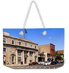 The Street In Mamaroneck Weekender Tote Bag