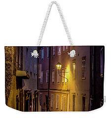 Weekender Tote Bag featuring the photograph The Streets Of Salzburg by David Morefield