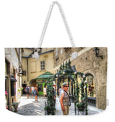 The Streets Of Vienna Austria Weekender Tote Bag by Yury Bashkin
