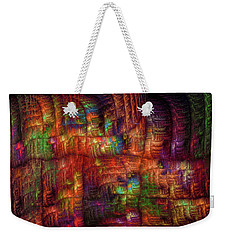 The Strong Fabric Of Dreams Weekender Tote Bag by Menega Sabidussi