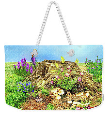 The Stump Weekender Tote Bag