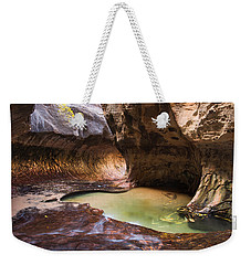 Weekender Tote Bag featuring the photograph The Subway by Patricia Davidson