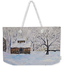 The Sugar House Weekender Tote Bag