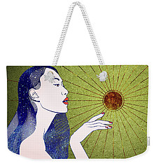 The Sun Is A Star Weekender Tote Bag