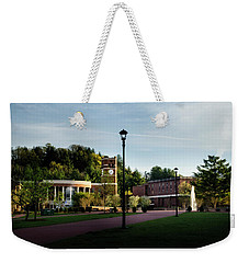 The Sun Rises On Western Carolina University Weekender Tote Bag