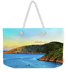 The Sun Sets On St. Thomas Weekender Tote Bag