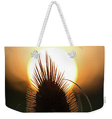 Weekender Tote Bag featuring the photograph The Sun Sets Upon Summer by Dale Kincaid
