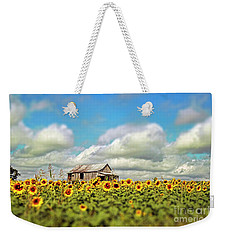 The Sunflower Farm Weekender Tote Bag by Darren Fisher