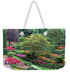 The Sunken Garden At Dusk Weekender Tote Bag by Betty Buller Whitehead