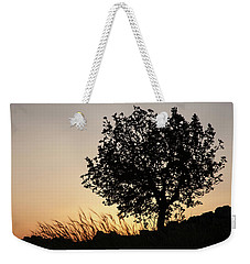 Sunset On The Hill Weekender Tote Bag by Yoel Koskas